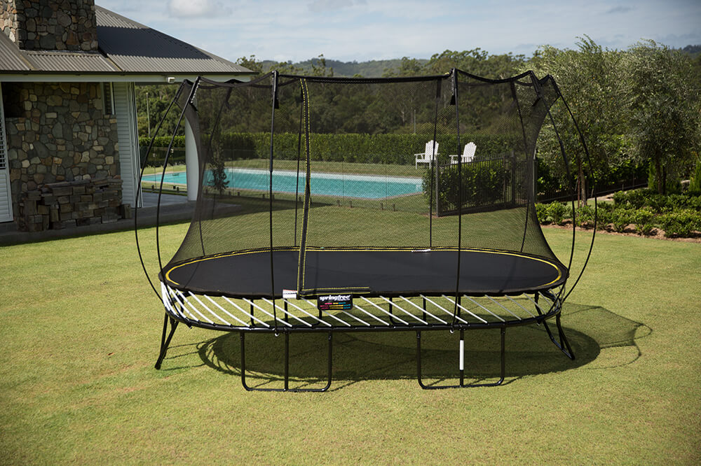 13ft x 8ft springfree trampoline safety net enclosure for Springfree trampoline