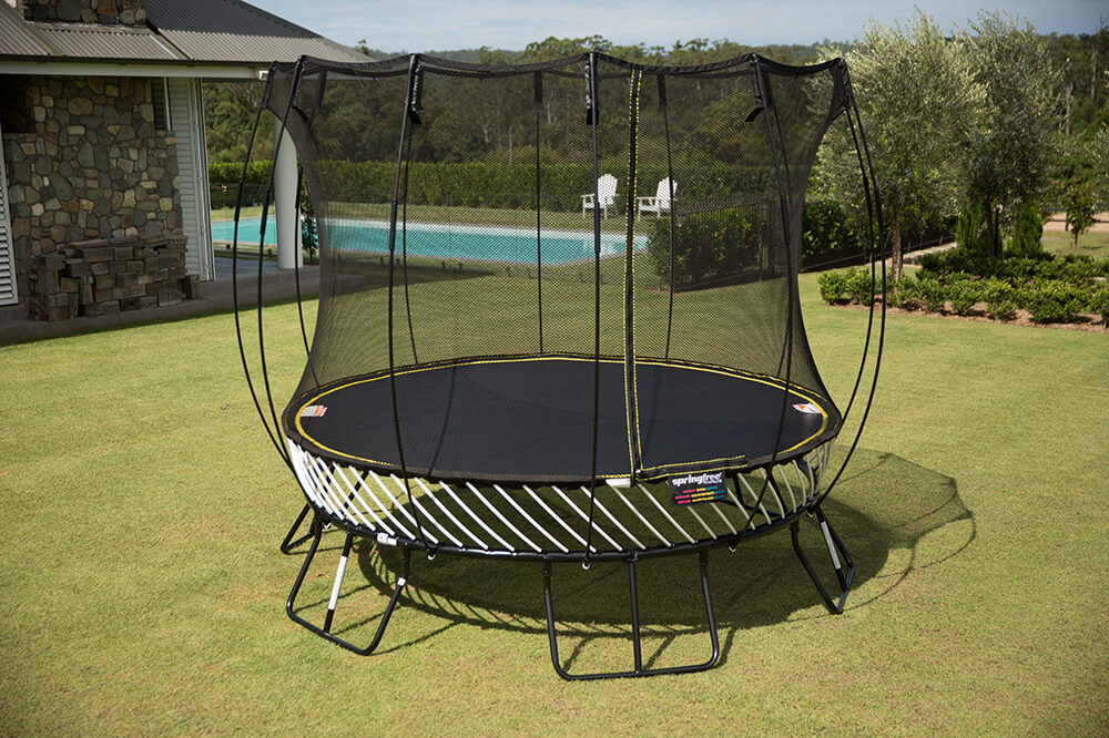 Springfree 10ft Trampoline Amp Safety Net Enclosure