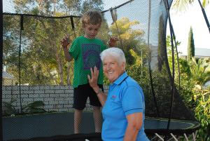 Dawn Fraser, Jackson and The Jumbo Squircle