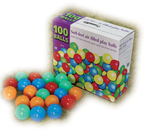 Soft Air filled balls are the best and safest to use!