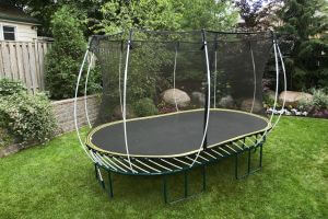 The SF60 Oval Springfree Trampoline