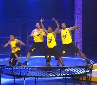 Acrodunk on the Springfree Trampoline on America's Got Talent