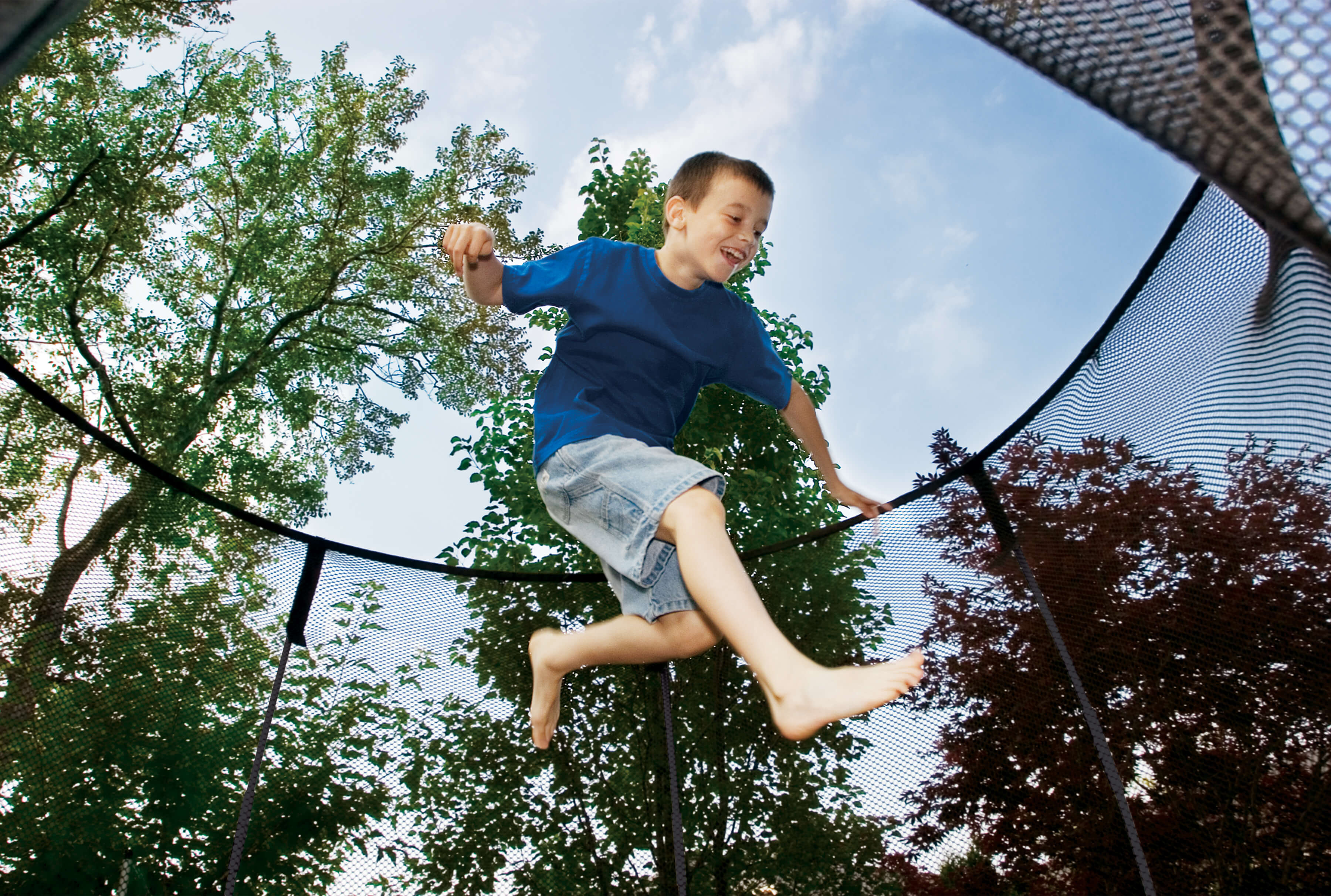 Fun Games To Play On The Springfree Trampoline