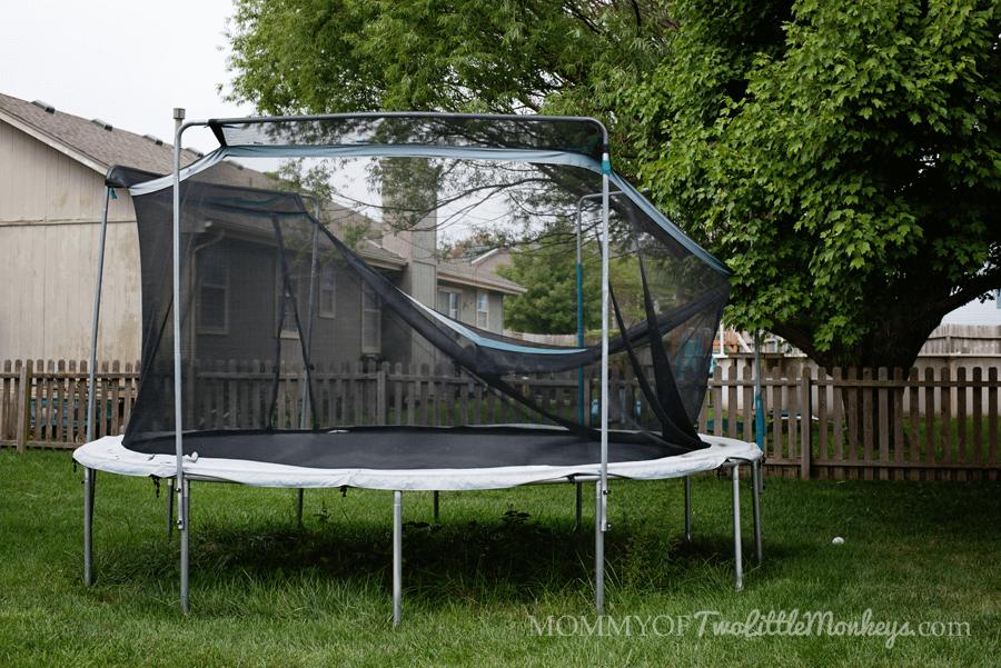 Broken Spring-Based Trampoline