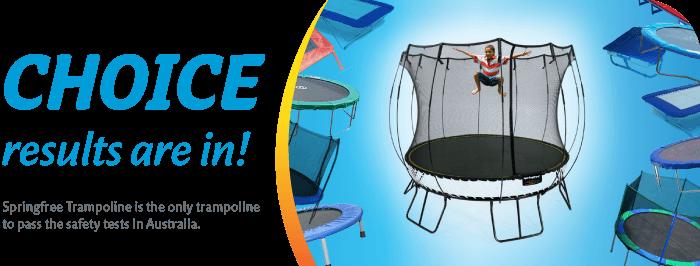 Only Safe Trampoline