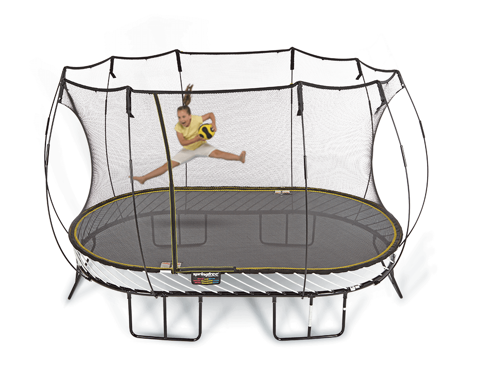 13ft X 8ft Springfree Trampoline Amp Safety Net Enclosure