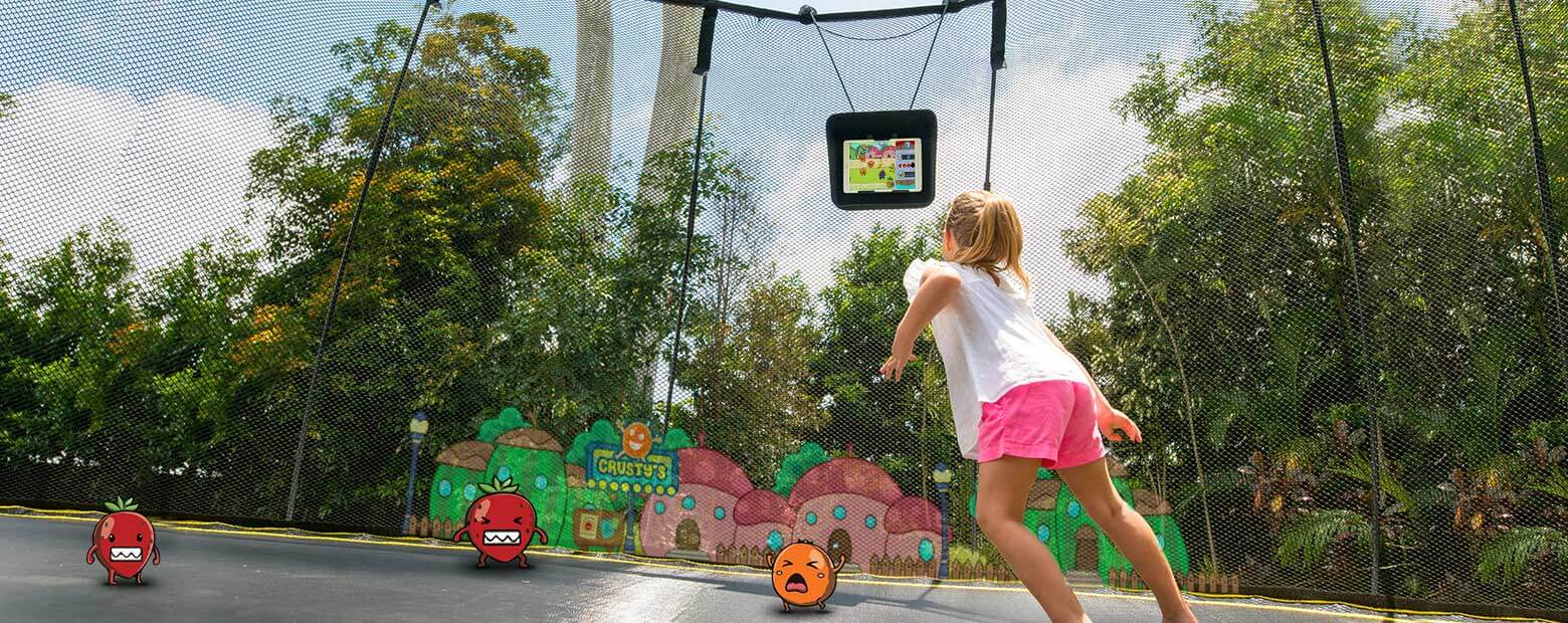 Kids aren't engineered to be safe. That's why our trampolines are.