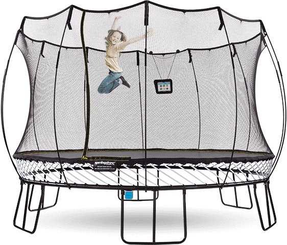 Safety Net Enclosed & Quality Springfree Trampolines