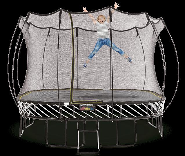 Springfree ® Trampoline Canada - World\'s Safest Trampolines