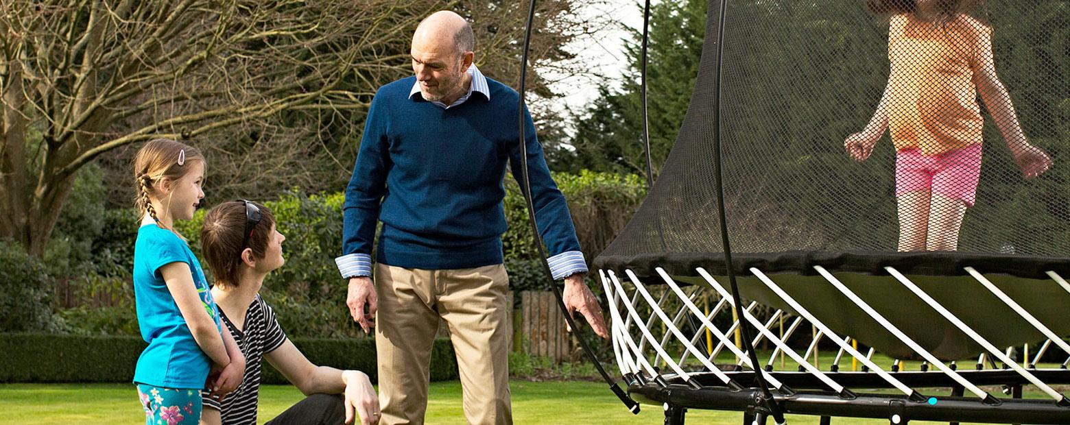 springfree trampoline new zealand   world s safest