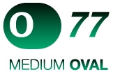 O77 Medium Oval Trampoline logo