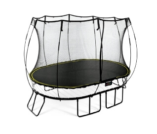 O77 Medium Oval Trampoline