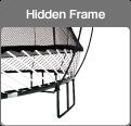 Springfree Trampoline hidden frame
