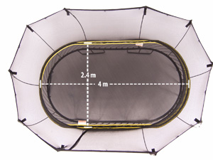 8ft 10ft 12ft 14ft 16ft Trampoline Sizes