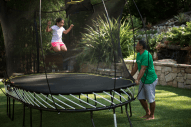 Large Oval Trampoline