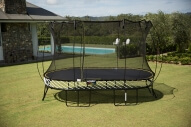 Large Oval Smart Trampoline