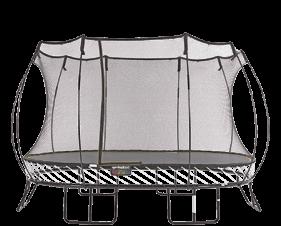 Large Oval Trampoline