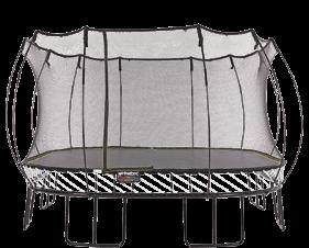 Jumbo Square Trampoline