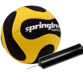 Black & Yellow Ball & Pump