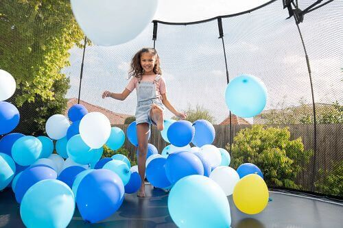 Springfree Medium Round with Balloons