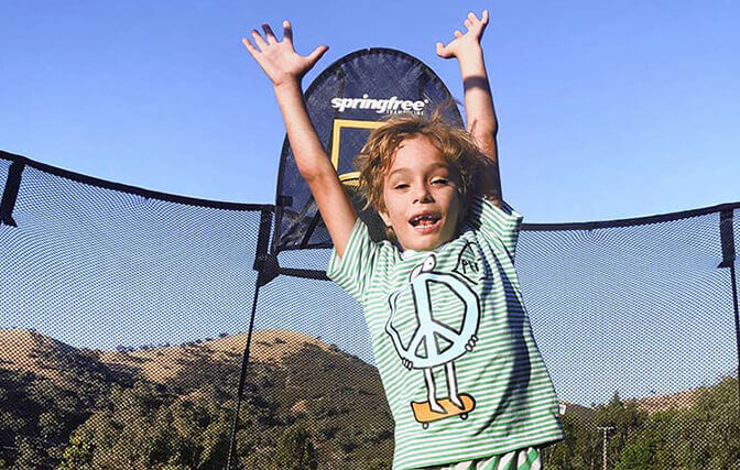 Trampoline Benefits for Kids with Special Needs