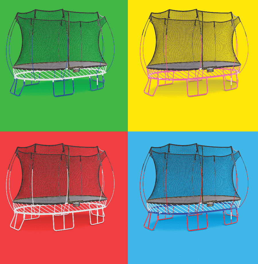Springfree Trampoline custom