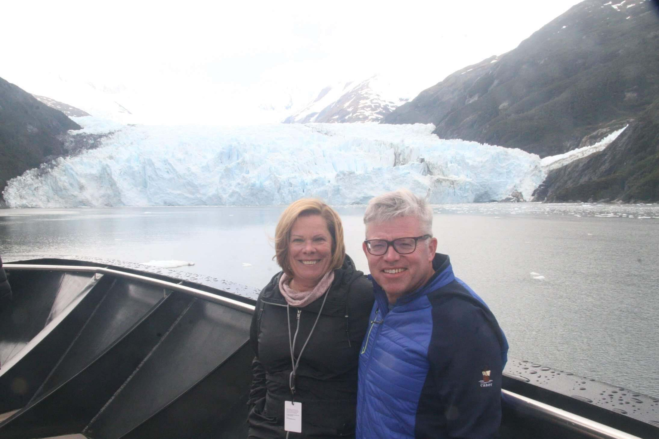 Steve Holmes with wife Cheryl