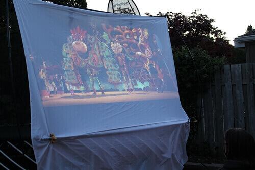 Movie Night Screen