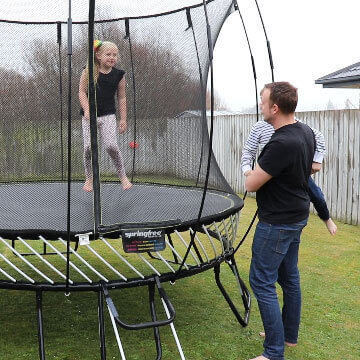 Springfree Trampoline Nz Engineered For Safety Built To Last