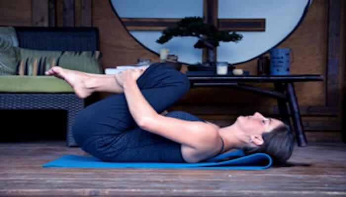 Yoga Ball Pose