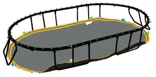 Installation Instructions For O92 Large Oval Trampoline